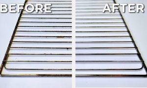 روش تمیز کردن توری فر بدون مواد شیمیایی نحوه تمیزکردن توری فر