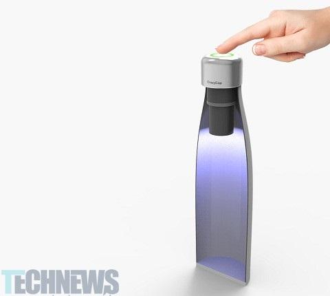 اختراع بطری های با قابلیت خود پاک کنندگی هوشمند پاک کنندگی بطری به روش آسان