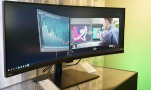 مانیتور لنوو ThinkVision P44W به صورت رسمی معرفی شد