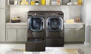 ماشین لباسشویی هوشمند 2020 ال جی جدیدترین مدل ماشین لباسشویی ال جی لباس شویی جدید ال جی 10کیلویی هوشمند