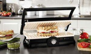 راهنمای کامل استفاده از ساندویچ ساز روش استفاده از ساندویچ سازطریقه استفاده از ساندویچ ساز