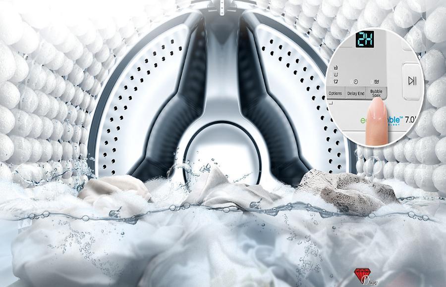 سامسونگ ماشین لباسشویی مدل Q1255