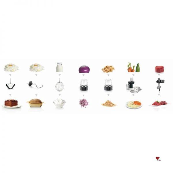 غذاساز بوش مدل MUM57B224