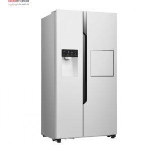 یخچال فریزر ساید بای ساید هایسنس مدل RC71WS4SA