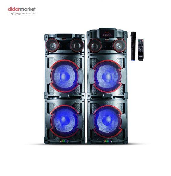 اسپیکر میکرولب مدل MDJ-1202 پخش کننده خانگی میکرولب مدل DJ-1202