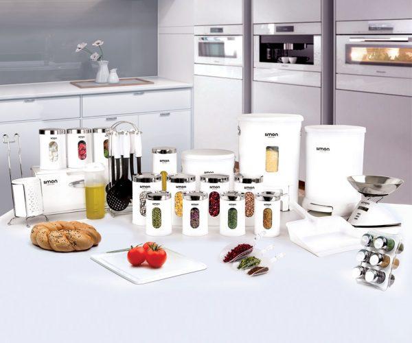 سرویس آشپزخانه گرد لیمون 37 پارچه