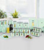 سرویس آشپزخانه 4گوش لیمون 37 پارچه