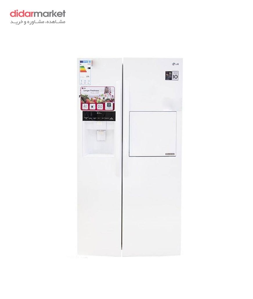 یخچال و فریزر ساید بای ساید ال جی مدل SXP450