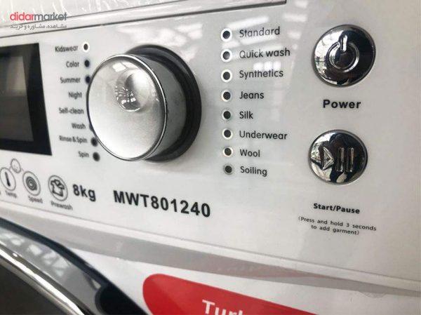 ماشین لباسشویی اینترنشنال مدل MWT-801240