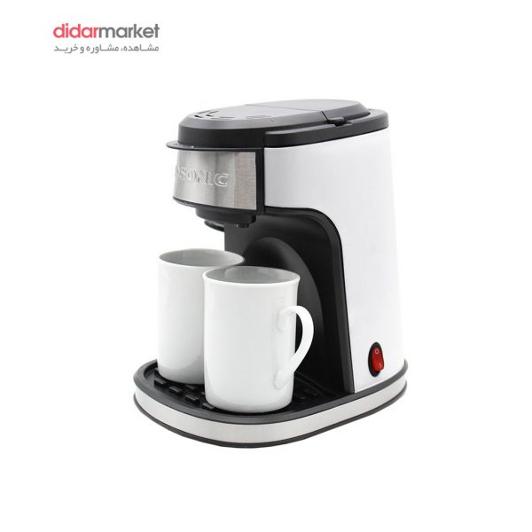 قهوه ساز گوسونیک مدل GCM-858 گوسونیک قهوه ساز مدل GCM-858