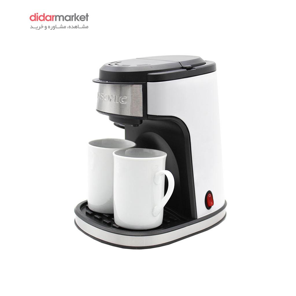 قهوه ساز گوسونیک مدل GCM-858