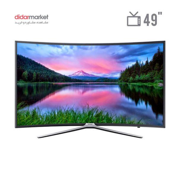 تلویزیون ال ای دی هوشمند خمیده سامسونگ مدل 49N6950 سامسونگ تلویزیون ال ای دی هوشمند خمیده مدل 49N6950