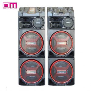 اسپیکر مکسیدر مدل MX-DJ2122-AL1224 پخش کننده خانگی
