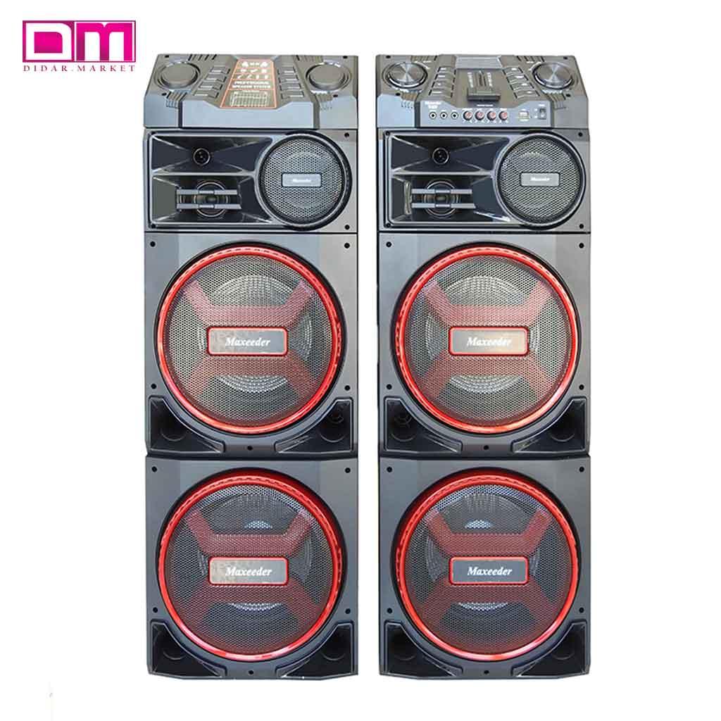 اسپیکر مکسیدر مدل MX-DJ2122-AL1224