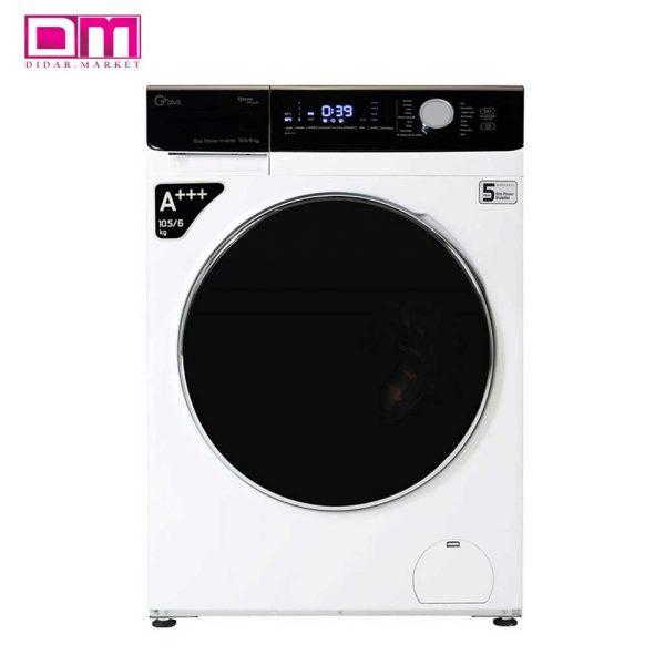 ماشین لباسشویی جی پلاس مدل GWM-KD1048