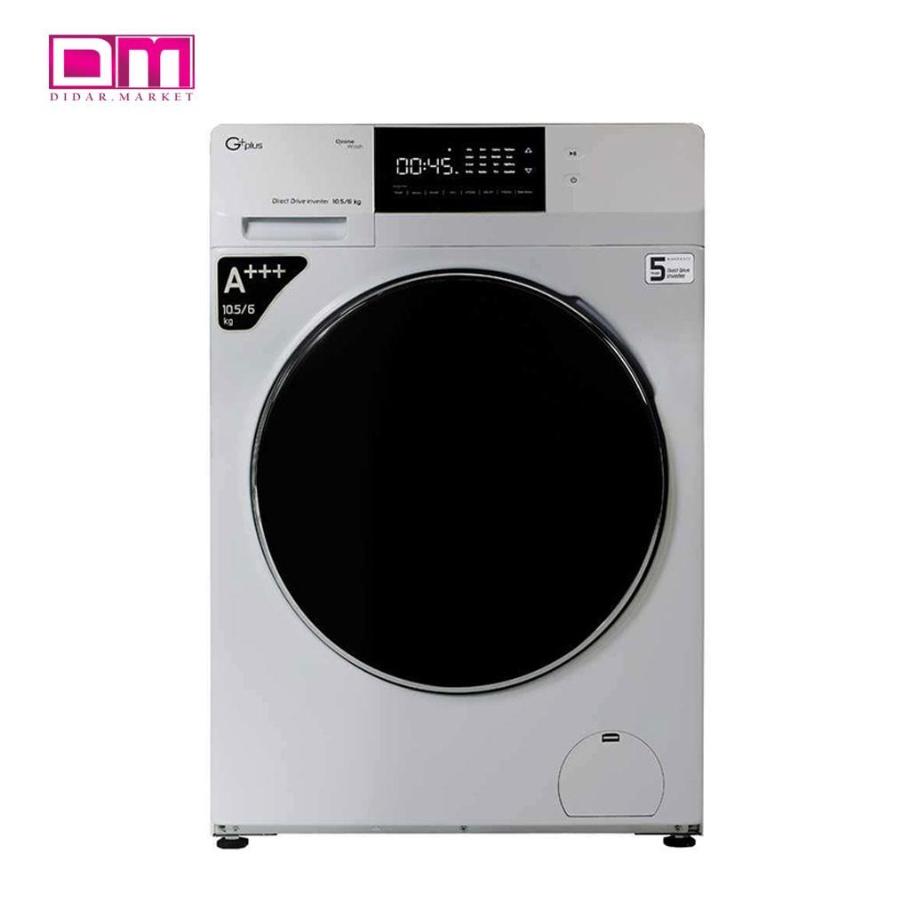 ماشین لباسشویی جی پلاس مدل GWM-KD1049
