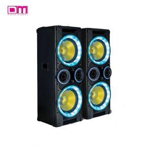 اسپیکر دی مکس مدل DJ-DMAX MASK-212ALPHA
