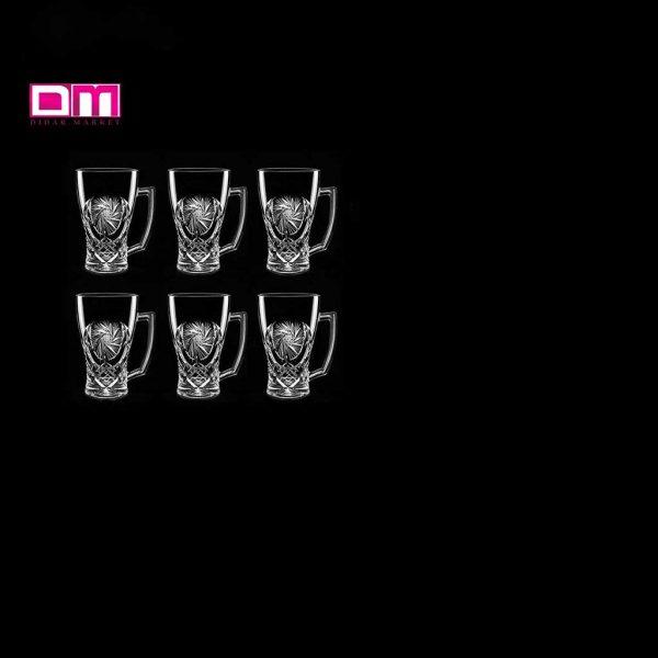 ماگ ایرنا مدل خوردشیدی بسته 6 عددی