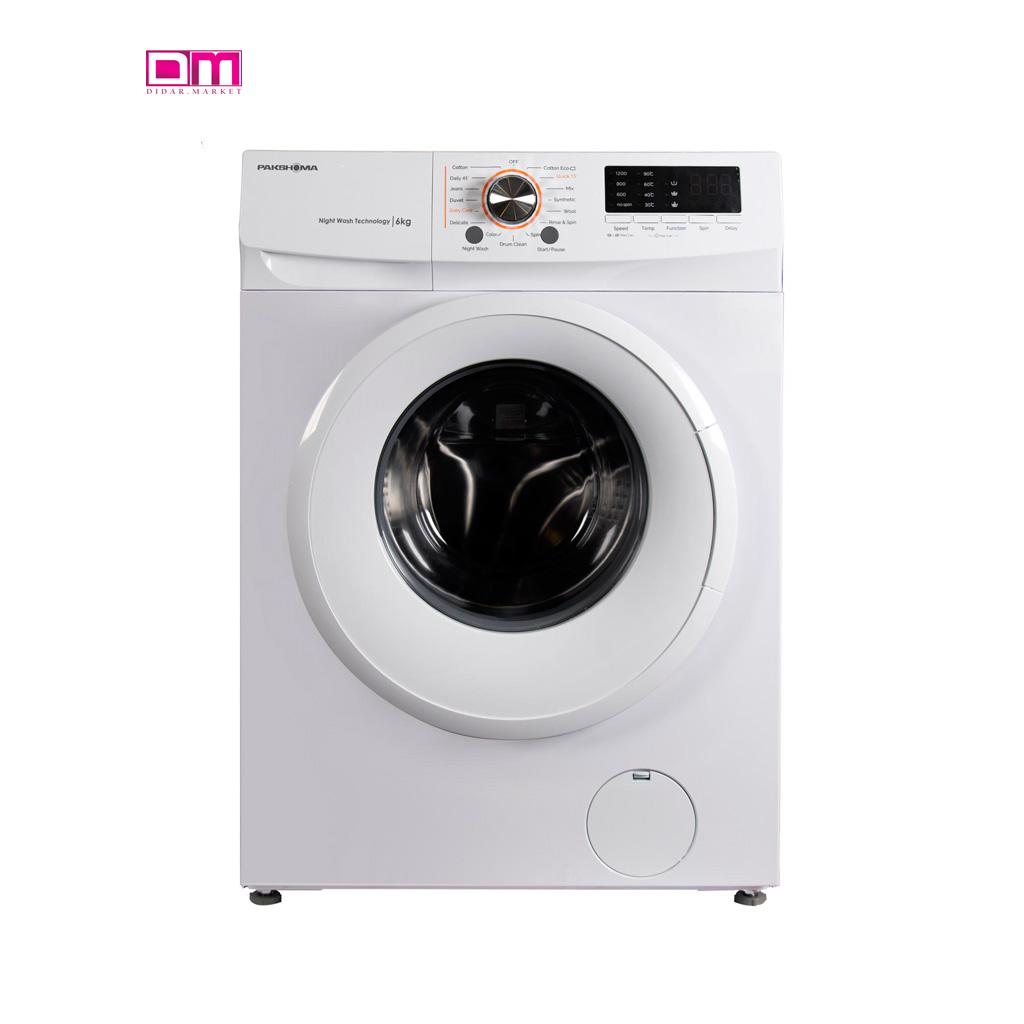 ماشین لباسشویی پاکشوما مدل TFU-63100