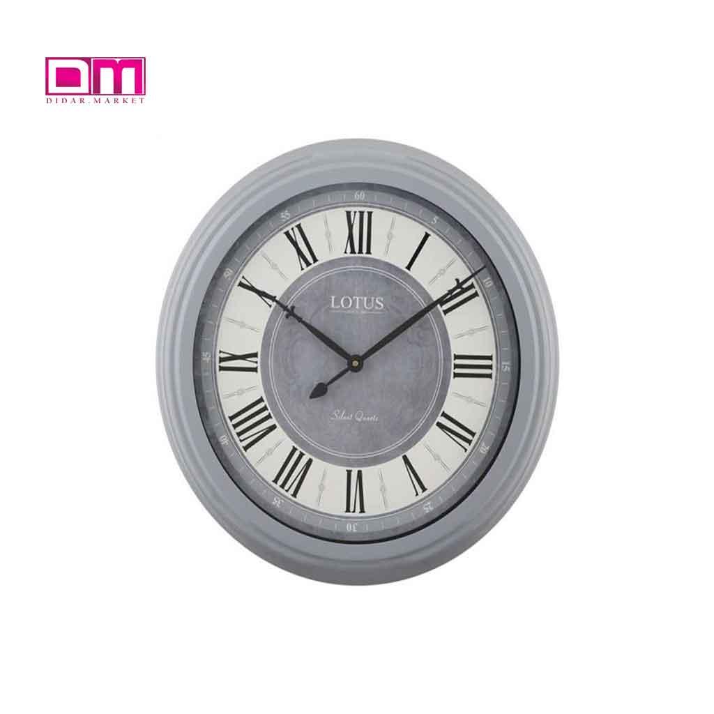 ساعت دیواری لوتوس مدل M-16034-DELANO