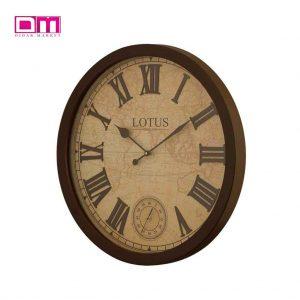ساعت دیواری لوتوس مدل W-8838-BRIER