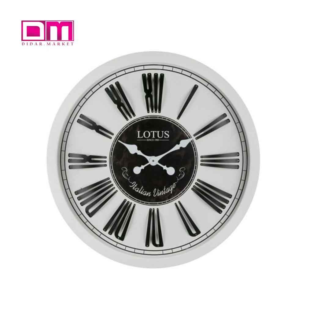 ساعت دیواری لوتوس مدل W-7732-LOWELL